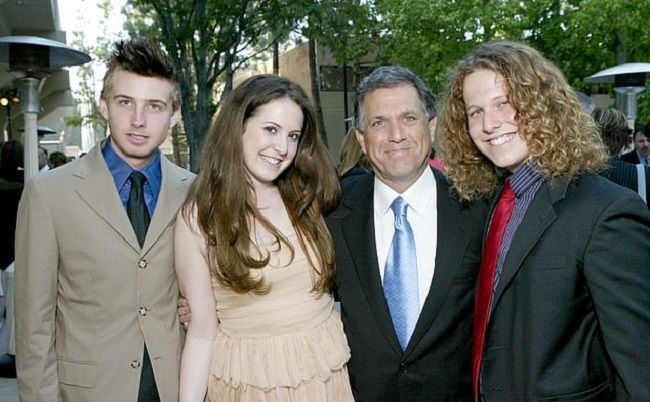 Adam Moonves father and siblings