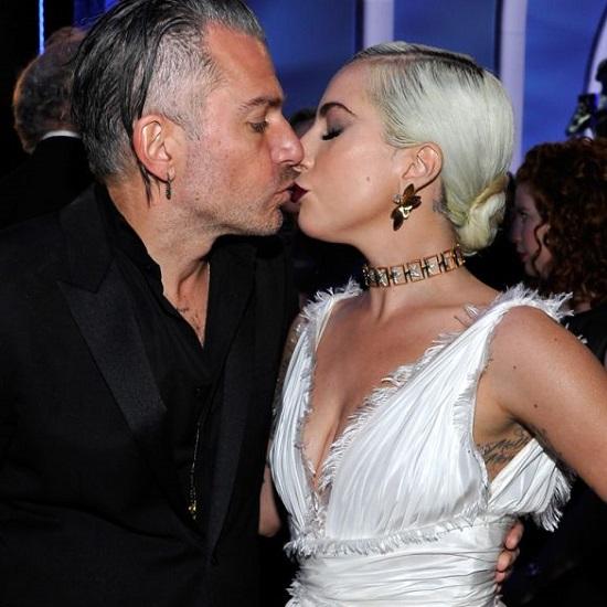 Lady Gaga With Her Ex-Fiance Christian Carino!!