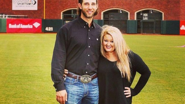 Madison-Bumgarner-with-his-wife