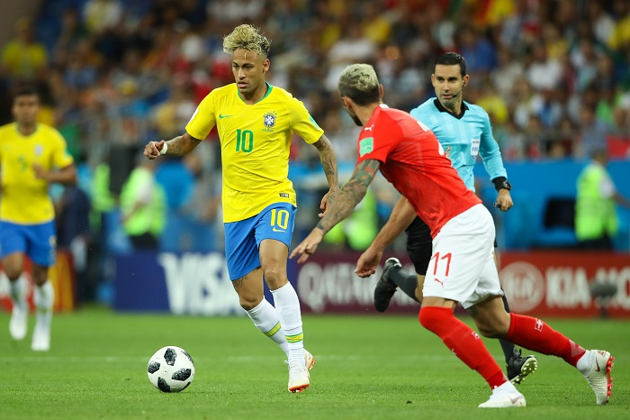 neymar jr Brazilian footballer