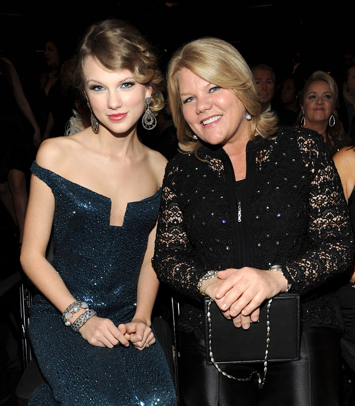 Andrea Swift The mother of Taylor Swift has brain tumor!