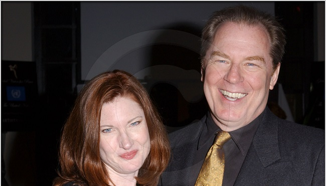 Annette-O'Toole-with-her-husband-Michael-McKean