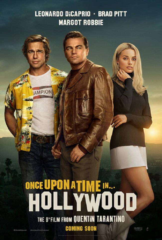 ONCE UPON A TIME...IN HOLLYWOOD Oscar nominations 2020