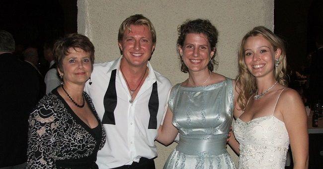 Stacie zabka and William Zabka wedding