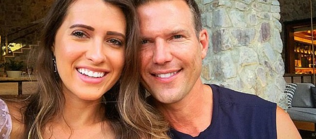 Travis Stork and his wife Parris Bell