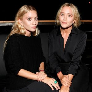 Ashley Olsen and twin Mary Kate olsen