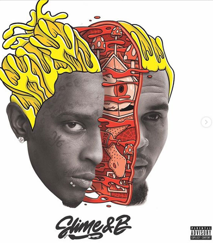 Chris Brown and Young Thug release 'Slime & B' mixtape 13-track project now