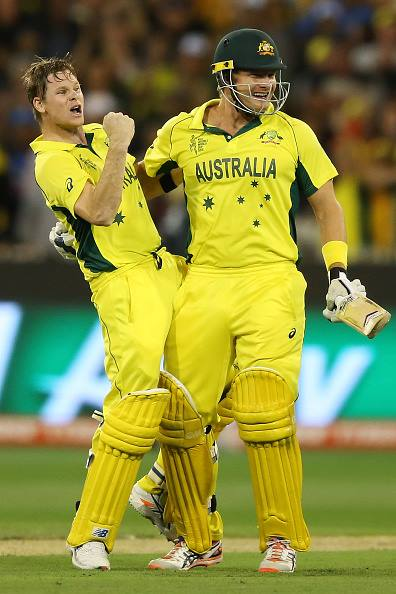 Steve smith with watson