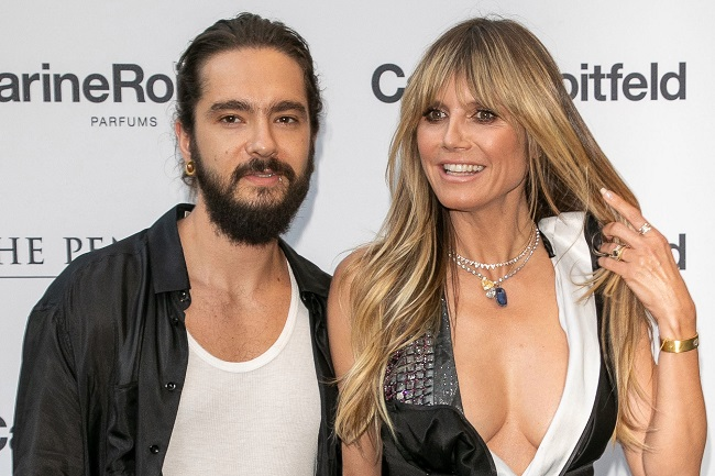 Heidi_Klum with favourate one