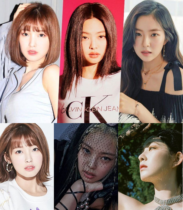 Oh My Girl Arin and Know June Girl Group Member Brand Reputation Rankings