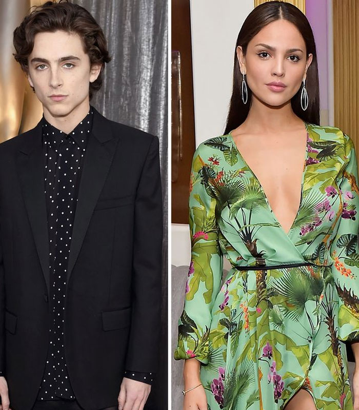Timothée Chalamet And Eiza González Passionately Making Out In A Pool