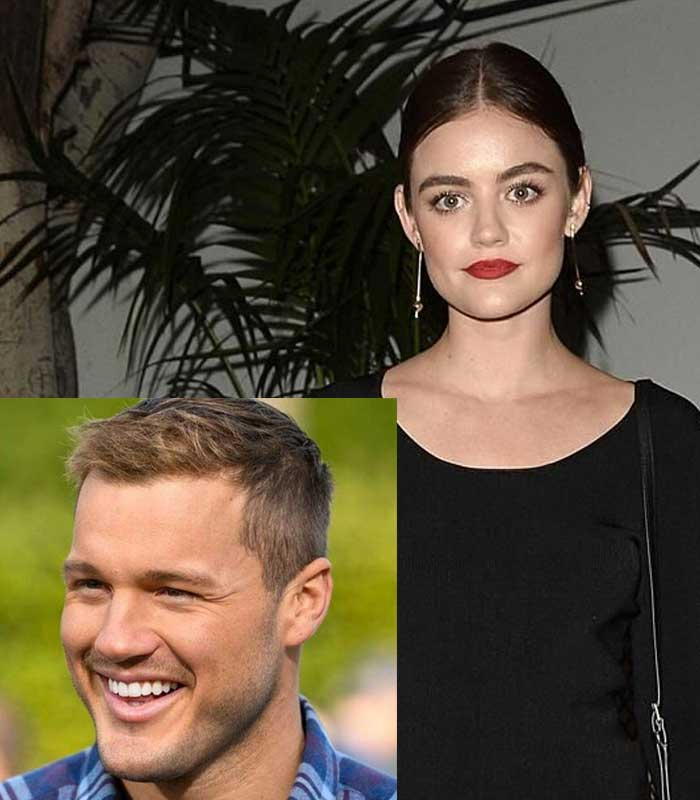 Lucy Hale and Colton Underwood dating rumors