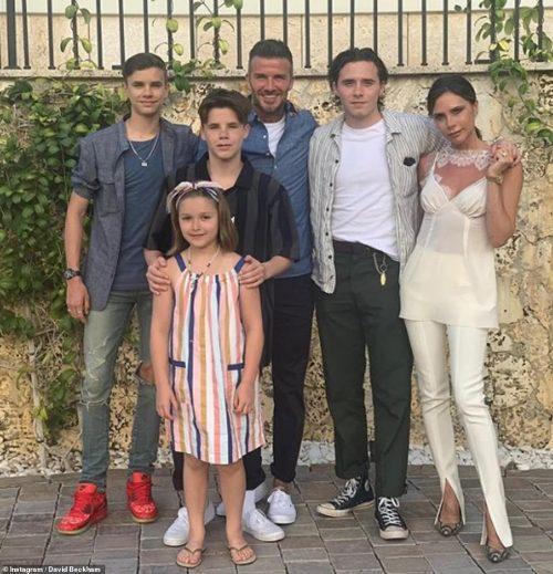 Nicola Peltz with brooklyn beckham family