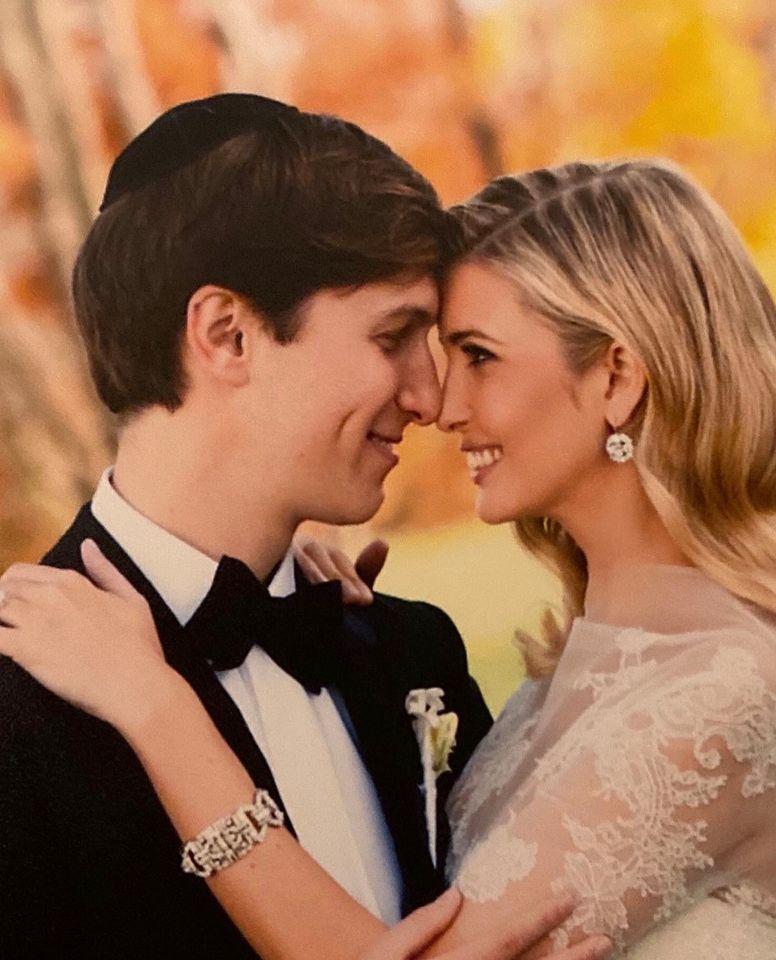 Ivanka trumps husband Jared Kushner