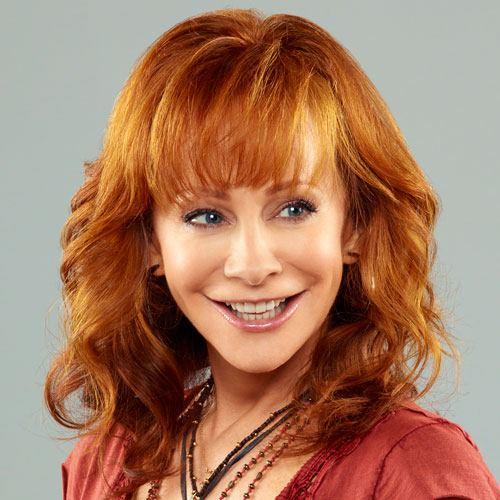 Reba McEntire looks