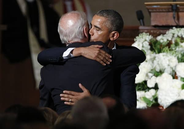 Joe Biden's with obama