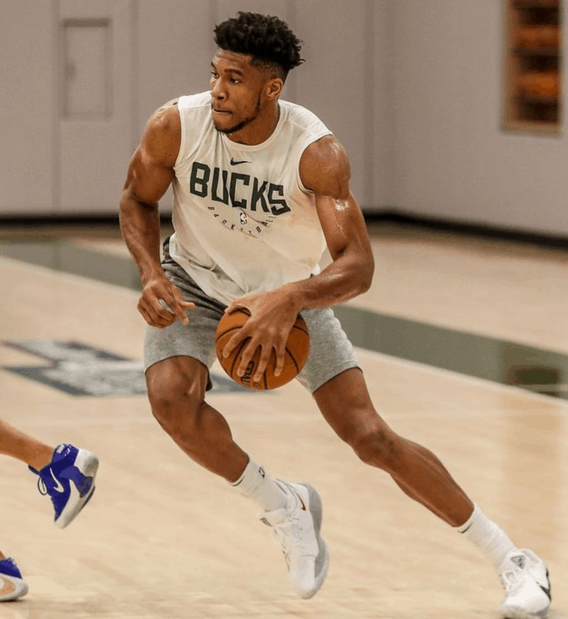 Giannis Talks About Improving Everyday